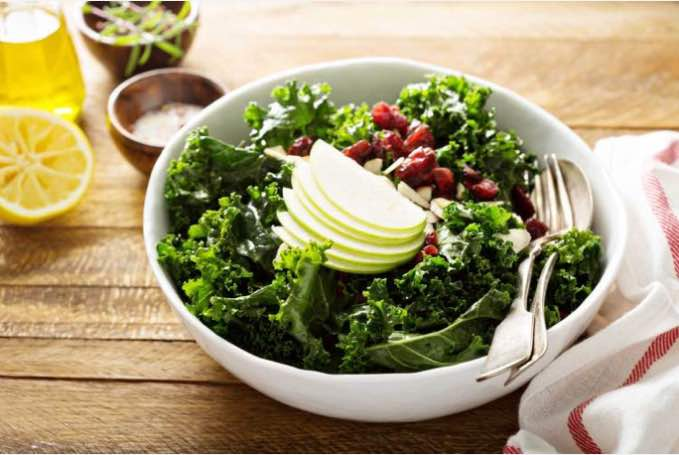 Our Favorite (and Easy) Kale Salad