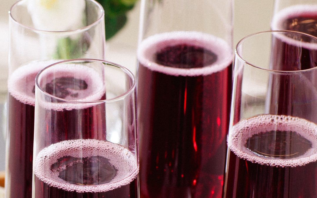 The Colors of Sparkling: White, Rosé, and Red P